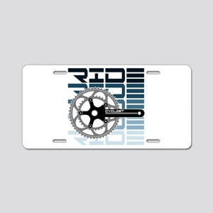 cycling-01 Aluminum License Plate