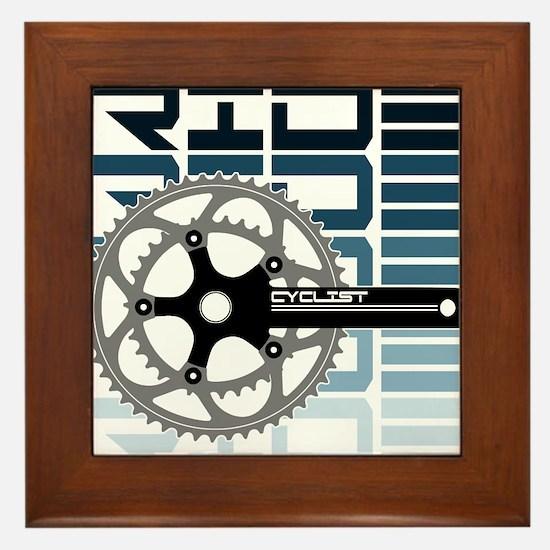cycling-01 Framed Tile