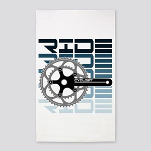 cycling-01 Area Rug