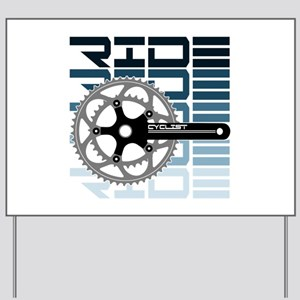 cycling-01 Yard Sign