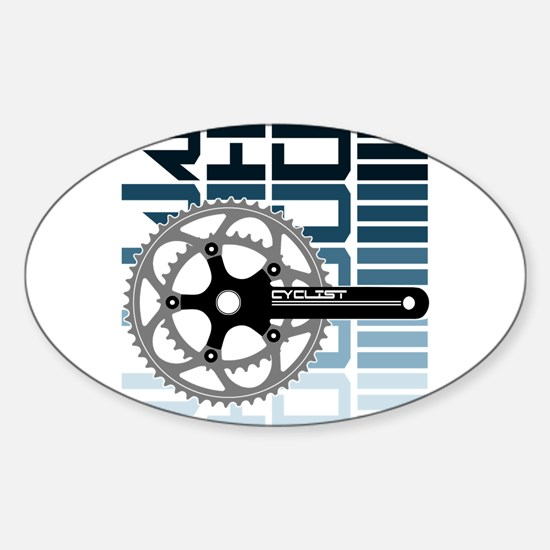 cycling-01 Bumper Stickers