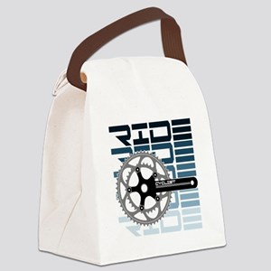 cycling-01 Canvas Lunch Bag