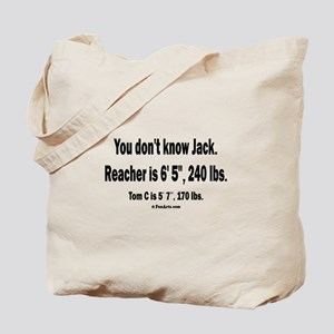 You Dont Know Jack Tote Bag