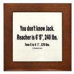 You Dont Know Jack Framed Tile