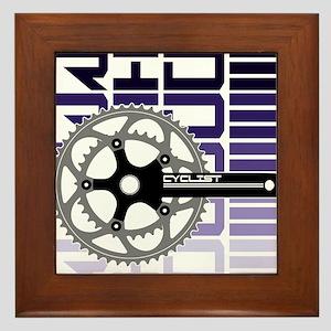 cycling-02 Framed Tile