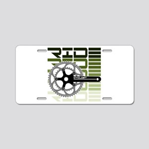 cycling-03 Aluminum License Plate