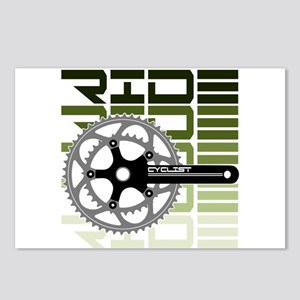 cycling-03 Postcards (Package of 8)