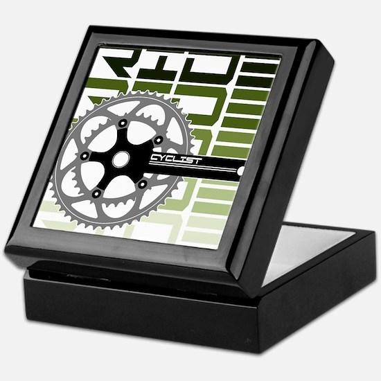 cycling-03 Keepsake Box
