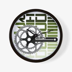 cycling-03 Wall Clock