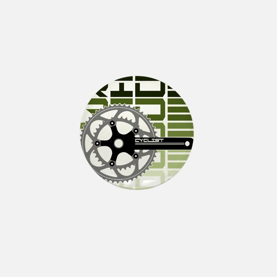 cycling-03 Mini Button