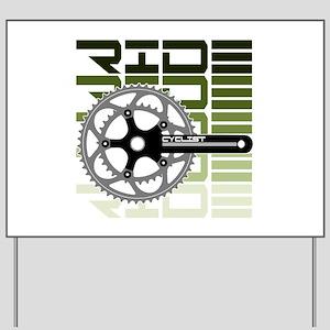 cycling-03 Yard Sign