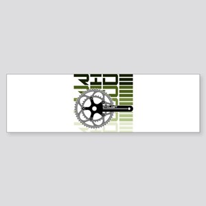 cycling-03 Bumper Sticker