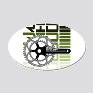 cycling-03 Wall Decal