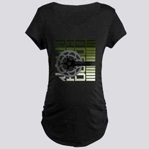 cycling-03 Maternity T-Shirt