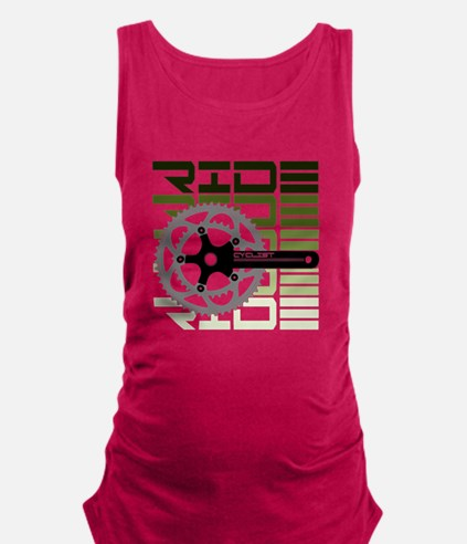 cycling-03 Maternity Tank Top