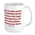 Software update Large Mug