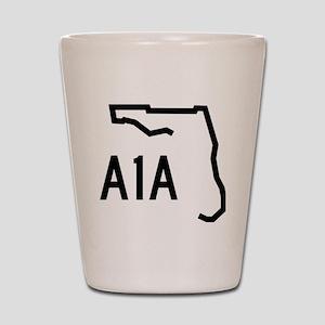 FLORIDA COASTAL ROUTE A1A Shot Glass
