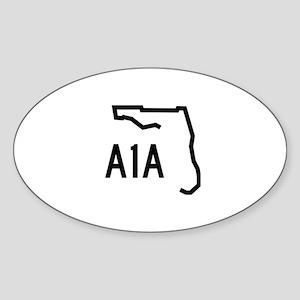 FLORIDA COASTAL ROUTE A1A Sticker
