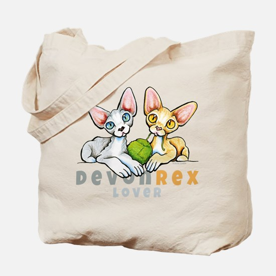 Devon Rex Lover Tote Bag