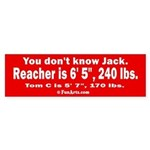 You don't know Jack Sticker (Bumper)