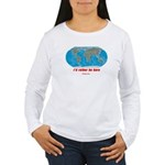 I'd rather be here Women's Long Sleeve T-Shirt