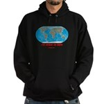 I'd rather be here Hoodie (dark)