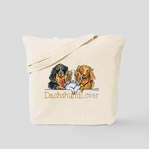 LH Dachshund Lover Tote Bag
