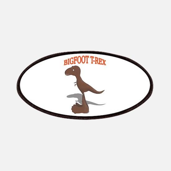 Bigfoot T-Rex Drawing Patch