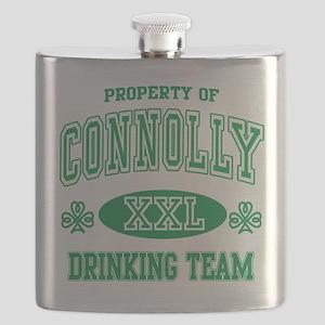 Connolly Irish Drinking Team Flask