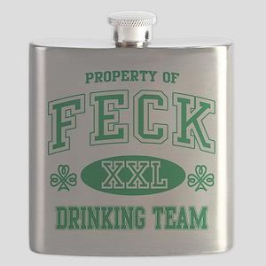 Feck Irish Drinking Team Flask