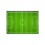 Soccer field 5x7 Rugs