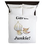 Garlic Junkie Queen Duvet