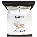 Garlic Junkie King Duvet