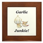 Garlic Junkie Framed Tile