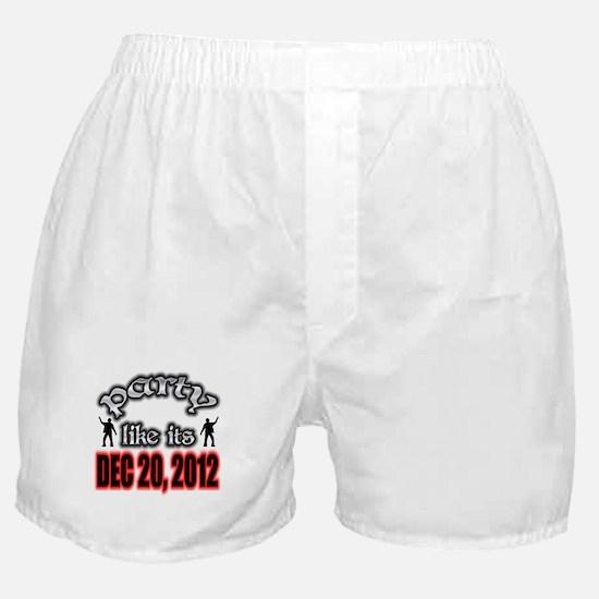 Party Like Boxer Shorts