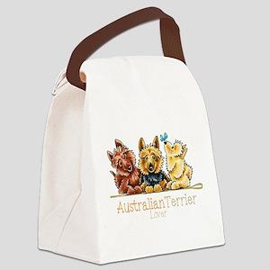 Australian Terrier Lover Canvas Lunch Bag