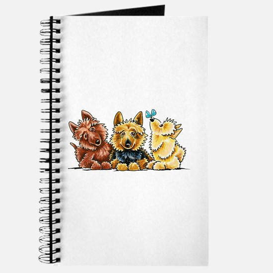 3 Australian Terriers Journal