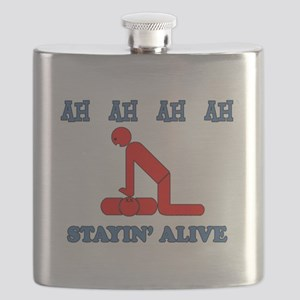 Stayin' Alive Flask