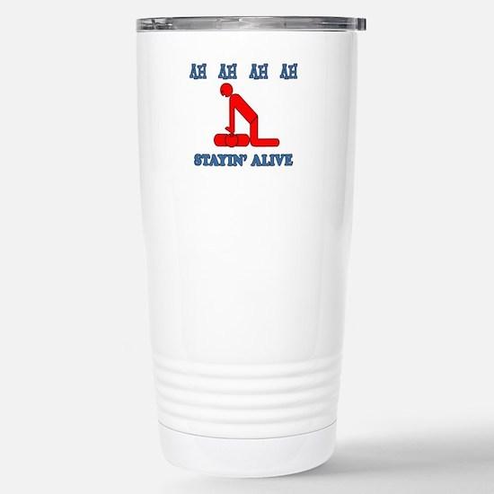 Stayin' Alive Travel Mug