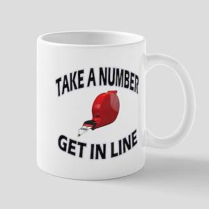 Take a Number Mugs