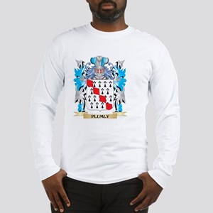 Plumly Coat of Arms - Family C Long Sleeve T-Shirt