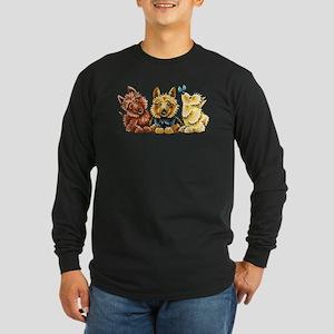 3 Australian Terriers Long Sleeve T-Shirt