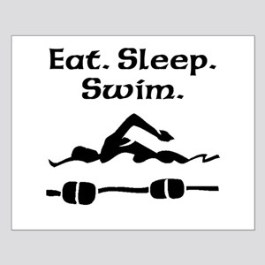 Eat Sleep Swim Posters