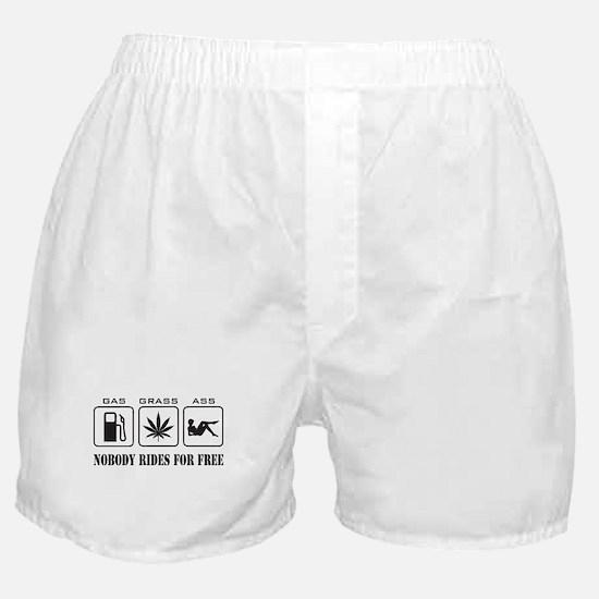 No Free Rides Boxer Shorts