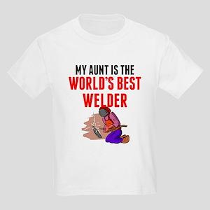 My Aunt Is The Worlds Best Welder T-Shirt