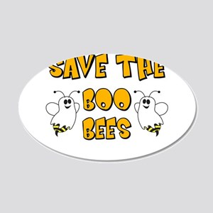 Save the Boo Bees Wall Decal
