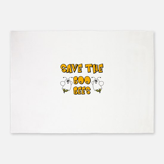 Save the Boo Bees 5'x7'Area Rug