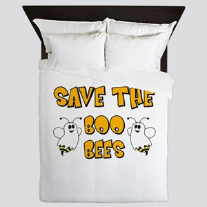 Save the Boo Bees Queen Duvet