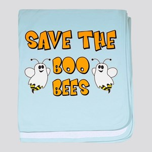 Save the Boo Bees baby blanket