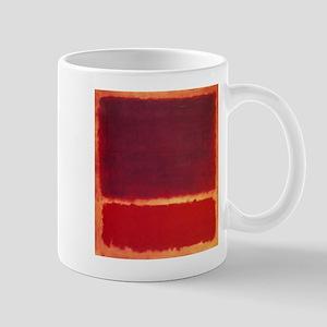 ROTHKO ORANGE RED Mugs